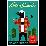 Scrojo Adam Sandler and David Spade Poster