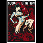 Scrojo Social Distortion Poster