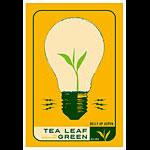Scrojo Tea Leaf Green Poster