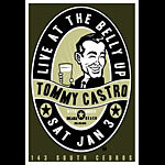Scrojo Tommy Castro Poster