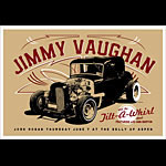 Scrojo Jimmie Vaughan and the Tilt-A-Whirl Band Poster