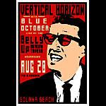 Scrojo Vertical Horizon Poster