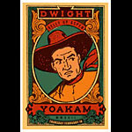 Scrojo Dwight Yoakam Poster