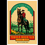 Scrojo Yonder Mountain String Band Poster