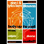Scrojo Zion I and Lyrics Born Poster