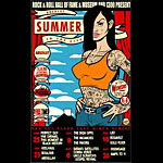 Scrojo Absolut Summer In The City Poster