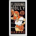 Scrojo Flogging Molly Handbill