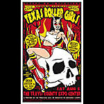 Scrojo Texas Roller Girls Poster