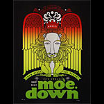 Scrojo Fourteenth Annual moe. down Poster