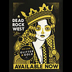 Scrojo Dead Rock West - Glitter and Gold 2019 Album Release Promo Poster
