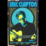 Scrojo Eric Clapton 2019 European Tour Poster
