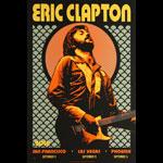 Scrojo Eric Clapton 2019 United States Tour Poster