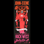 Scrojo John and Exene with Dead Rock West Poster