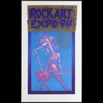 John Seabury Rock Art Expo '94 Poster