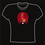 Art of Modern Rock<BR>Devil Girl - Women's M T-Shirt