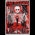 Todd Slater Bad Religion Poster