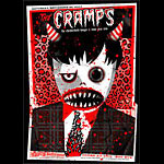 Todd Slater The Cramps Poster