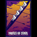 Todd Slater Mates of State Poster