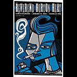 Todd Slater Reverend Horton Heat Poster