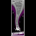 Todd Slater Sleater-Kinney Poster