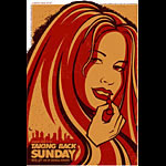 Todd Slater Taking Back Sunday Poster