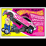 Stainboy Vans Off The Wall Club Tour - Avenged Sevenfold Poster