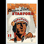 1951 Stanford vs Oregon State College Football Program