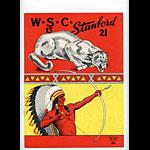 1951 Stanford vs Washington College Football Program
