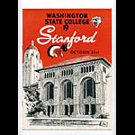 1953 Stanford vs Washington State College Football Program