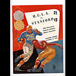 1955 Stanford vs UCLA College Football Program
