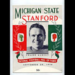 1956 Stanford vs Michigan State College Football Program