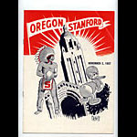1957 Stanford vs Oregon College Football Program