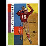 1959 Stanford vs UCLA College Football Program