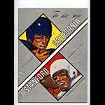 1960 Stanford vs Cal Big Game College Football Program