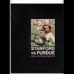 1970 Stanford vs Purdue College Football Program