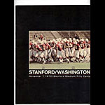 1970 Stanford vs Washington College Football Program