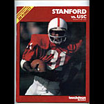 1980 Stanford vs USC College Football Program