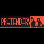 Pretenders Vintage Bumper Sticker