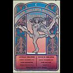 David Byrd Rolling Stones 1969 London Poster