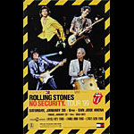Rolling Stones No Security Tour Poster