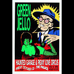 TAZ Green Jello Poster