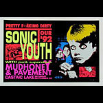 TAZ Sonic Youth Poster