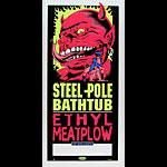 TAZ Steel Pole Bathtub Poster