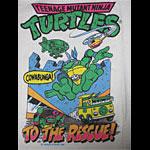 Ninja Turtles TMNT To The Rescue Vintage T-Shirt