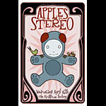 Tara McPherson Apples in Stereo Poster