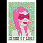 Tara McPherson Kings of Leon Poster