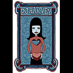 Tara McPherson PJ Harvey Poster