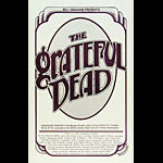 Randy Tuten Grateful Dead Orpheum Poster