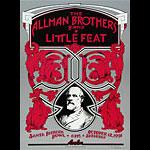 Randy Tuten Allman Brothers Poster