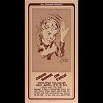 Randy Tuten Bill Graham Presents David Bowie Poster - signed